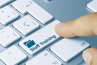 staff training button